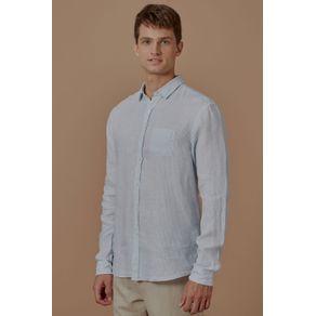 Camisa Linho Ml Surf Listrada