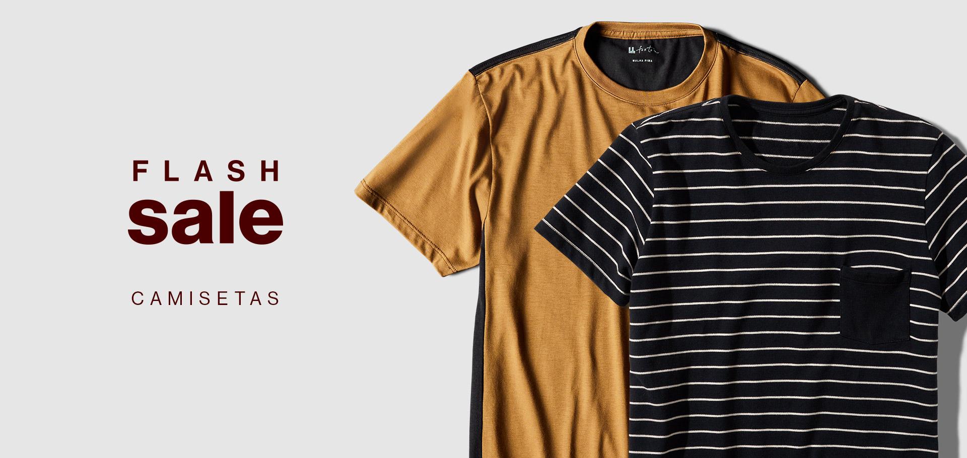 2 - Flash Sale - Camisetas